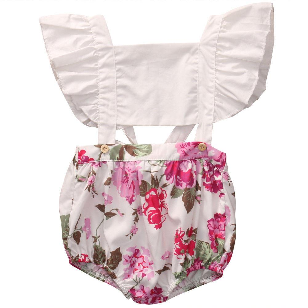Butterfly Sleeve Cut-out Romper - Darling Little One