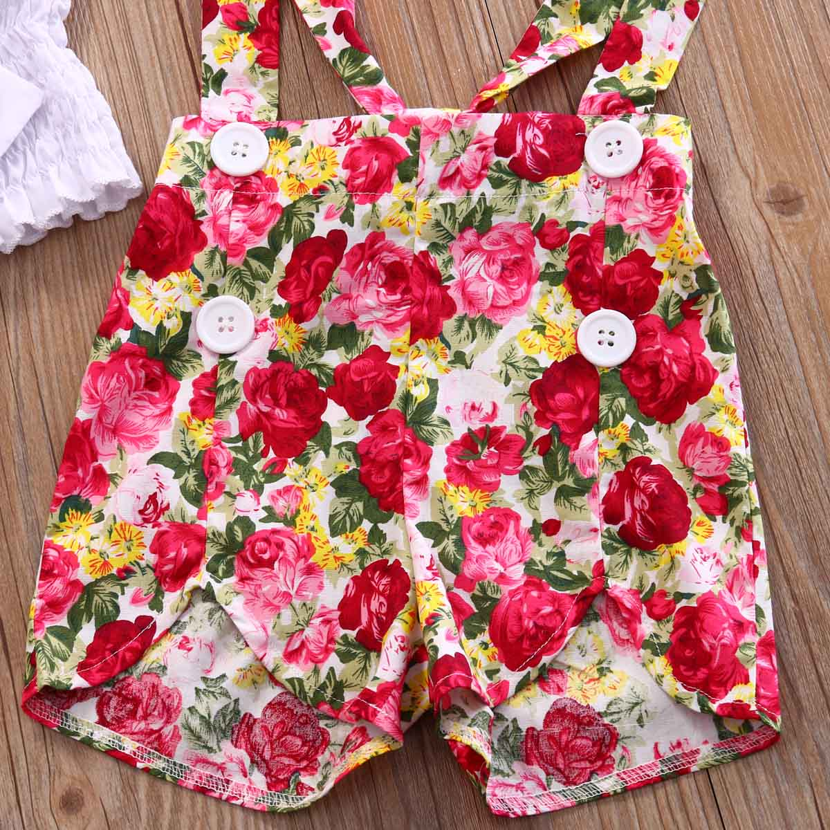 Floral Overall Set - Darling Little One