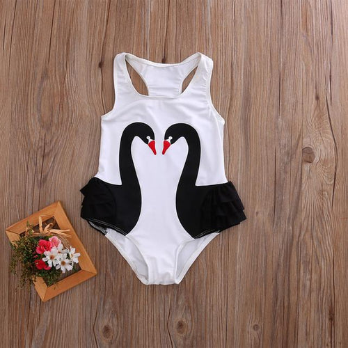 Black Swan One-Piece - Darling Little One