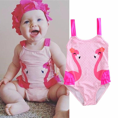Flamingo One-Piece - Darling Little One