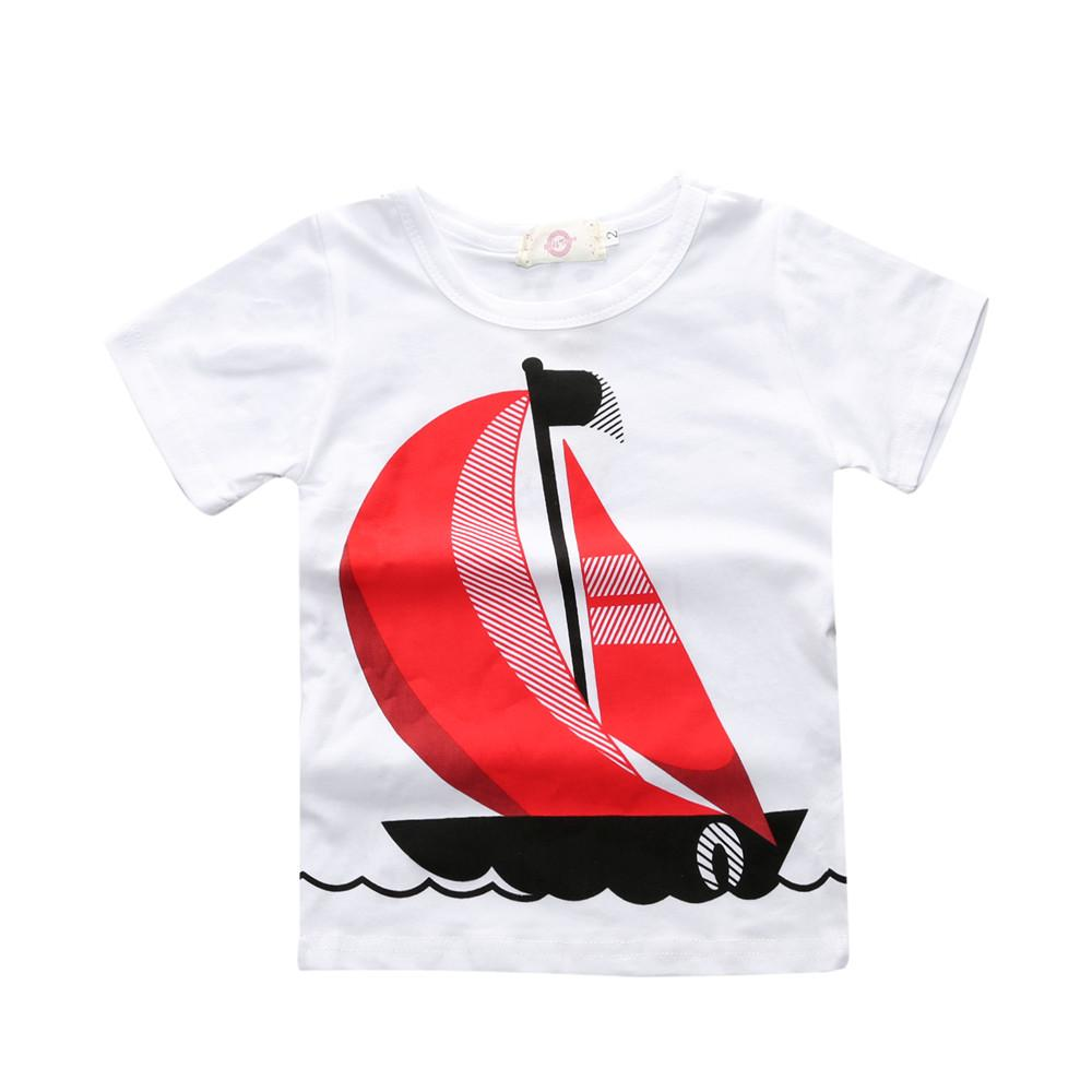 Sailboats and Jeans Set (4 pcs) - Darling Little One