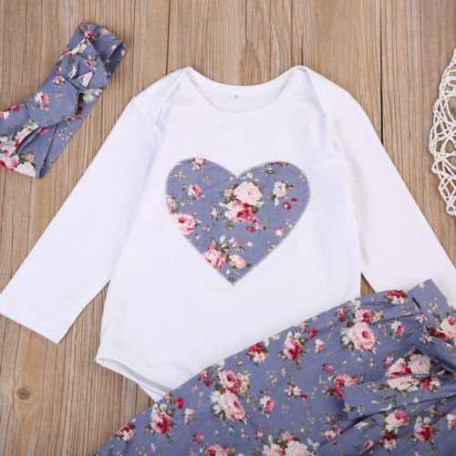 Floral Heart Set - Darling Little One