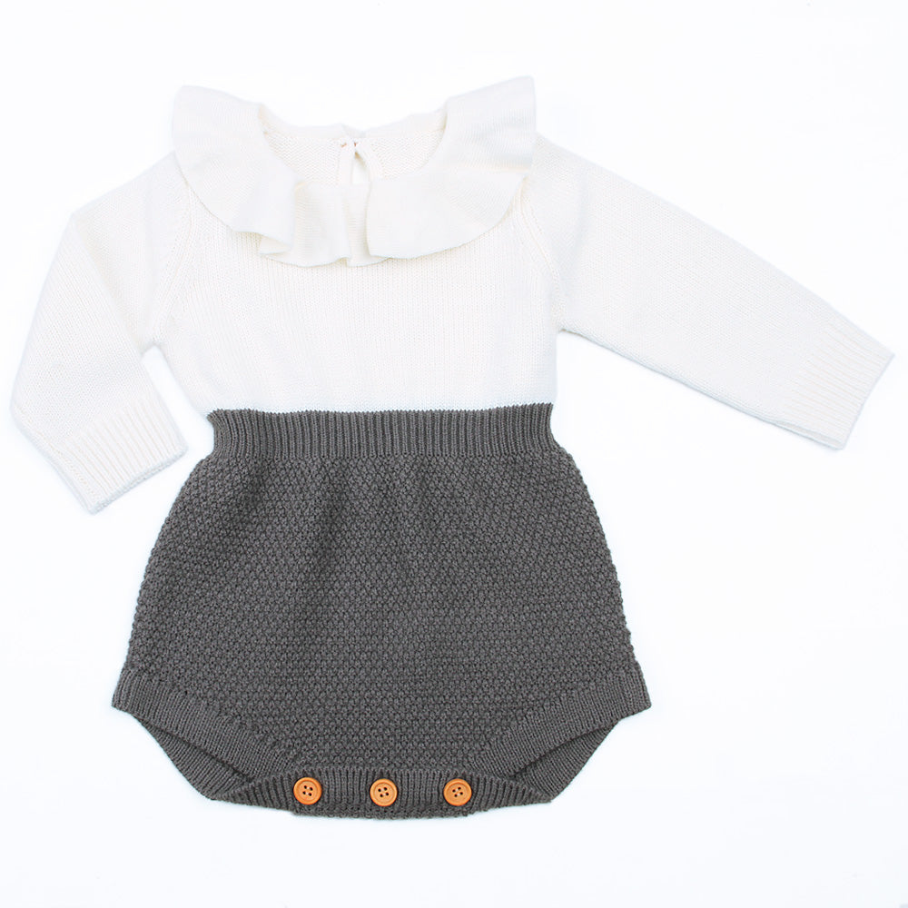 Knitted Romper - Darling Little One
