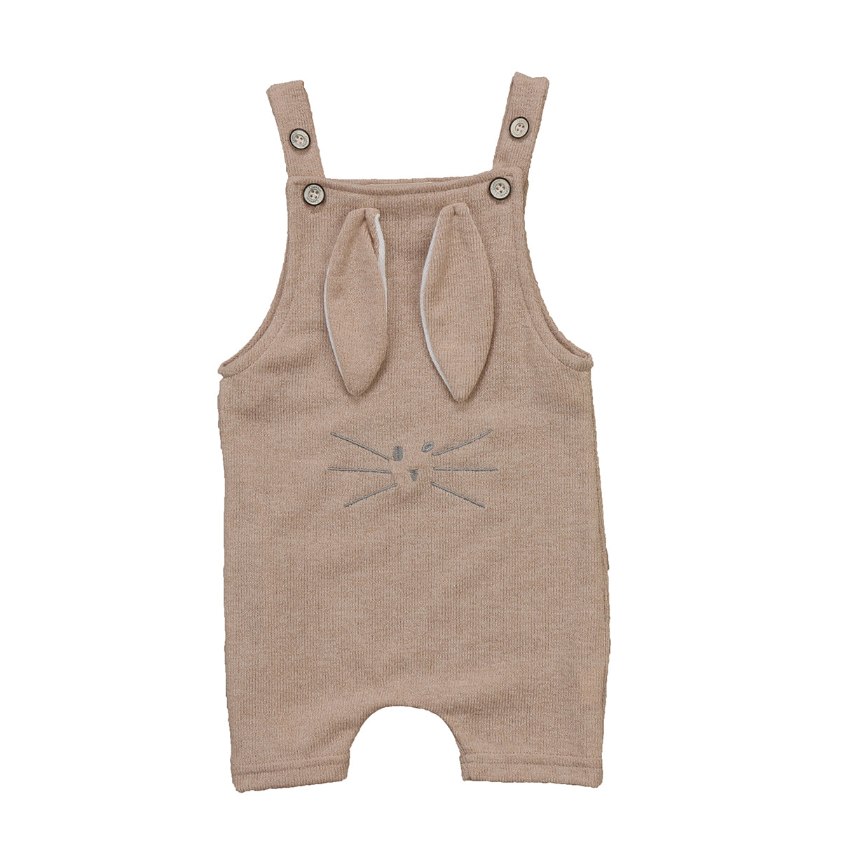 Knitted Rabbit Ears Romper - Darling Little One