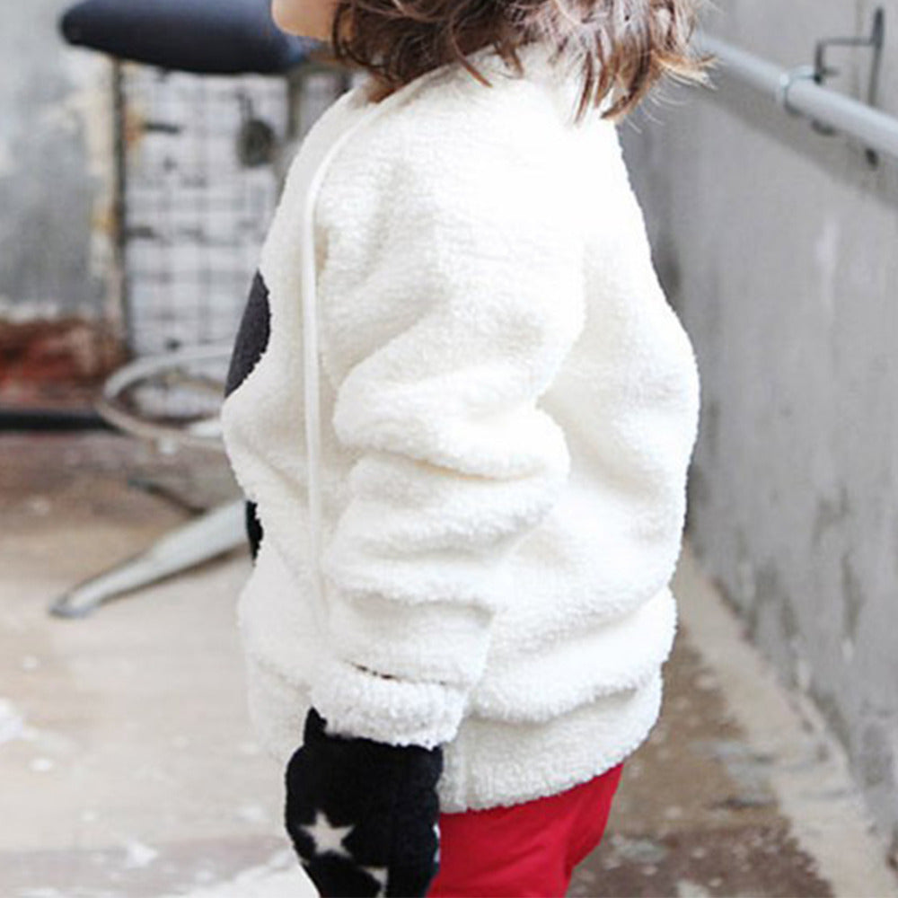 Fuzzy Bear Sweatshirt - Darling Little One