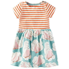 Sailboats and Dreams Dress - Darling Little One