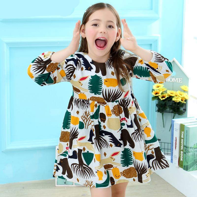 Forest Animal Dress - Darling Little One