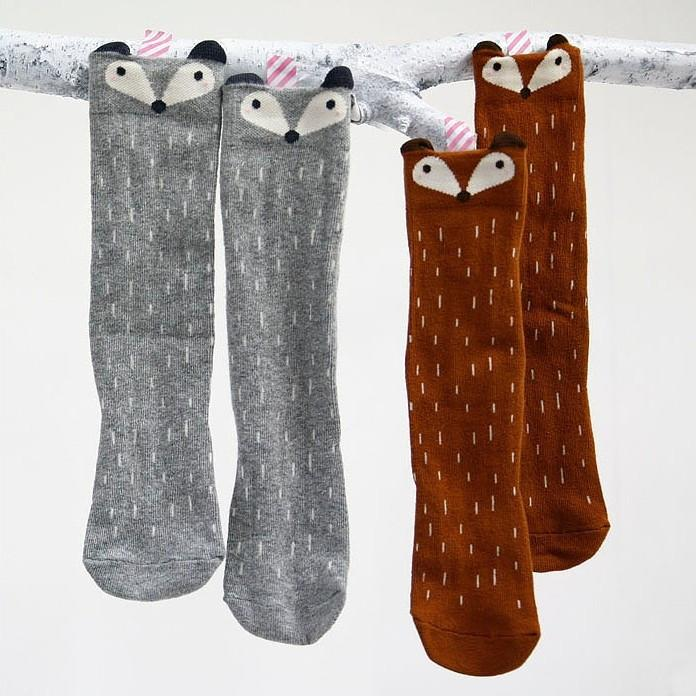 Knee High Fox Socks - Darling Little One