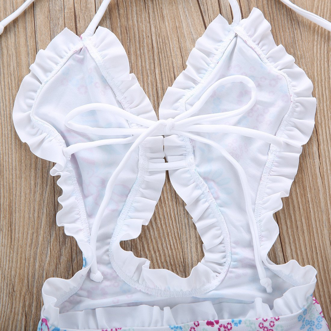 Ruffled Bathing Suit - Darling Little One