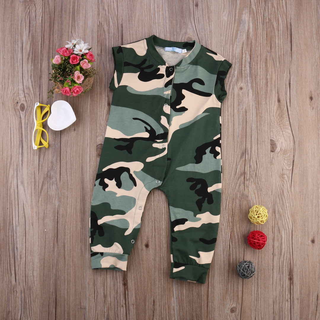 Camo Romper - Darling Little One