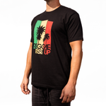 Palm Tri-Color Tee
