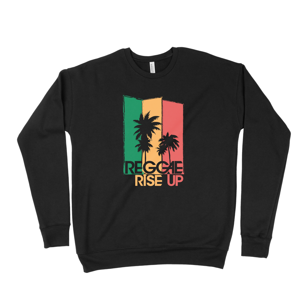 3 Color Palm Sweatshirt