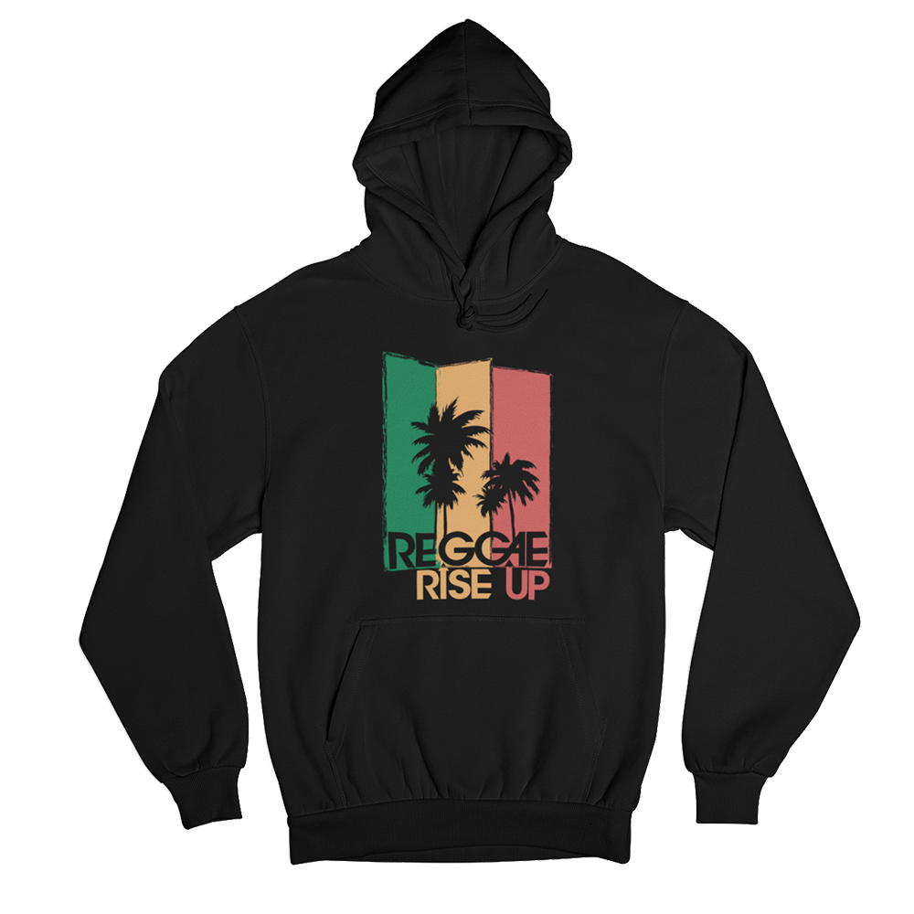 3 Color Palm Hoodie