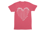 Youth Pink Hearts Shirt