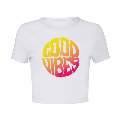 Good Vibes Crop