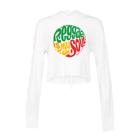 Reggae Soul Hooded Crop