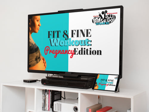 FIT & FINE Pregnancy Workout: (Available in DVD & Download)