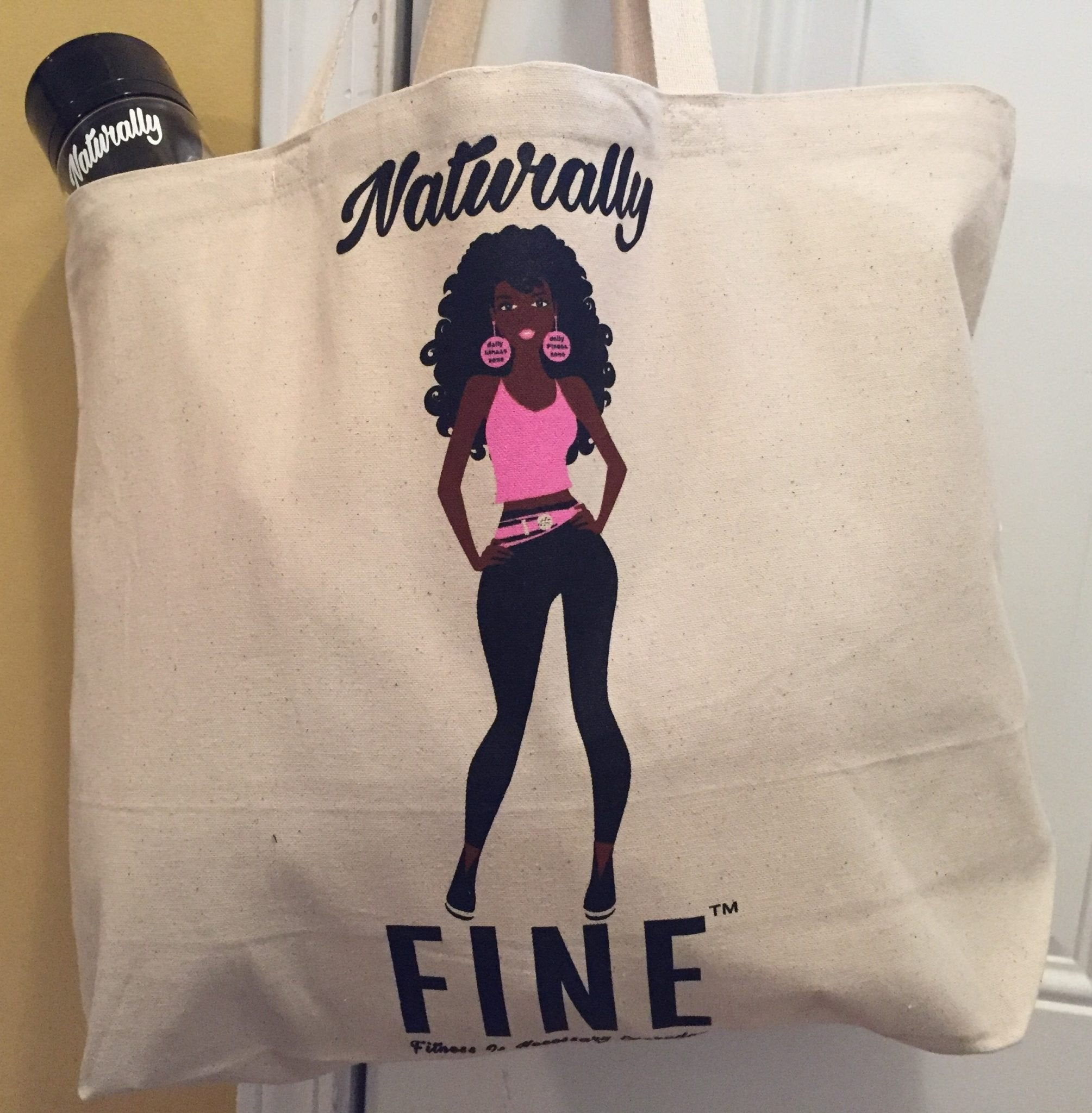 Naturally FINE Jumbo Tote Bag