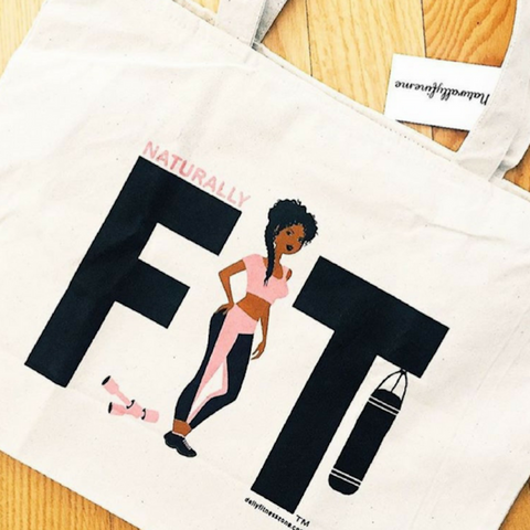 FIT Girl Tote Bag