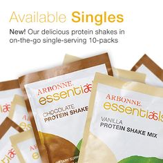 Arbonne Plant-Based Protein (10 Pack)