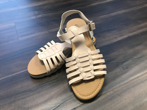 Cream Salt Water Style Sandal