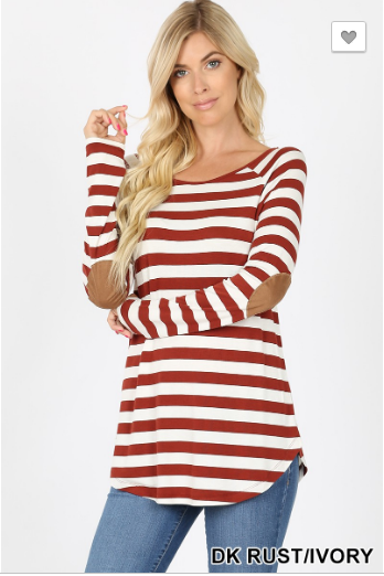 Madelyn Stripe Top - 19.10.31