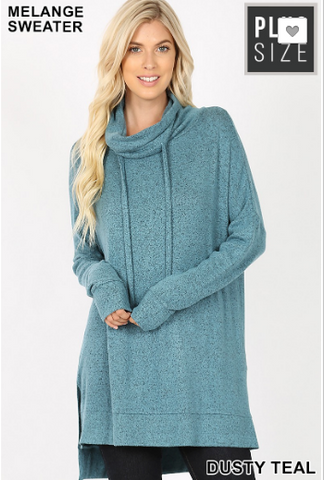 Sophie Cowl Neck Sweater in curvy - 19.10.31