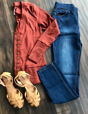 Blue Stretch Denim
