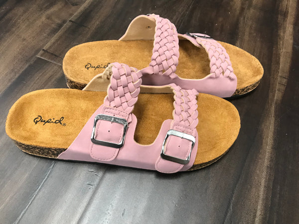 Desert Rose Braided Sandal