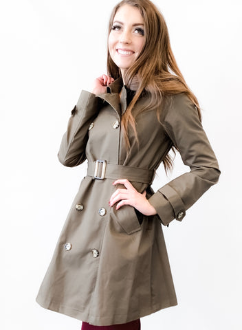 Nora Trench Coat - 19.10.31