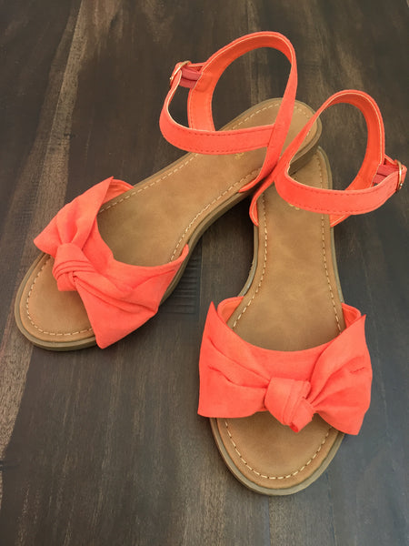 Christy Coral Bow Sandal 19.07.02A