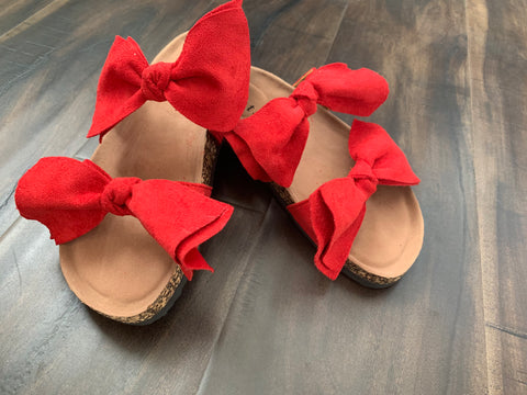Red Bow Sandals 19.06.25H