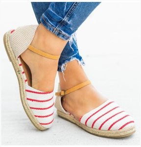 Lucille Red Stripe Sandal 19.06.11D