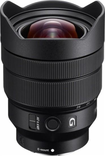 Sony - FE 12-24mm f/4 G Ultra-wide-angle Zoom Lens for Sony E-mount Cameras - black Model:SEL1224G
