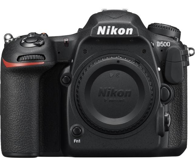 Nikon - D500 DSLR Camera (Body Only) - Black Model:1559