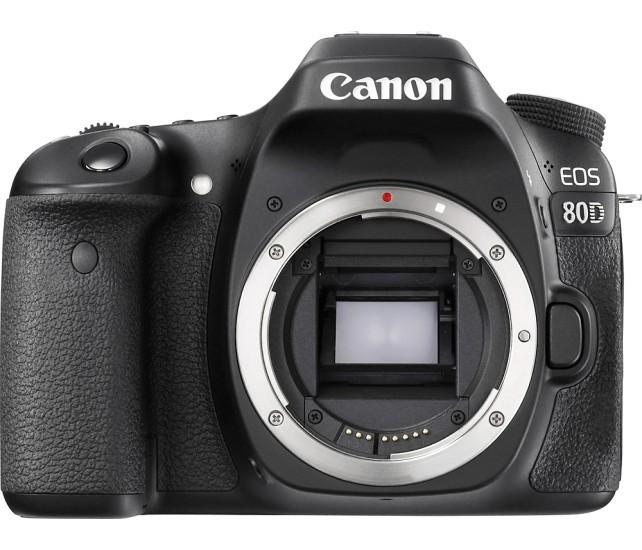 Canon - EOS 80D DSLR Camera with 18-55mm IS STM Lens - Black Model: 1263C005