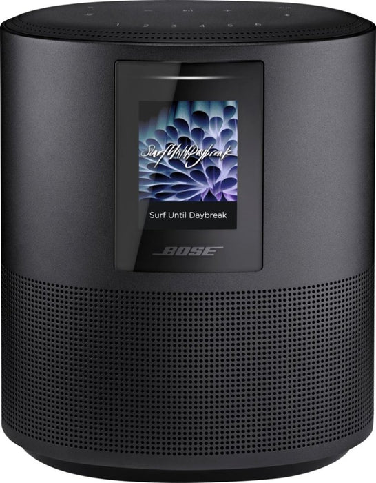 Bose® - Home Speaker 500 with Built-In Amazon Alexa and Google Assistant Voice Control - Triple Black Model:BOSE HOME SPEAKER 500 BLACK
