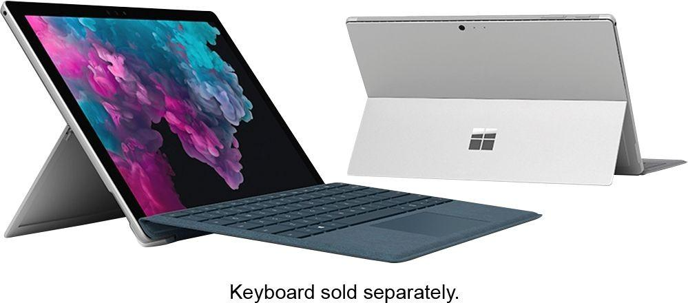"Microsoft - Surface Pro 7 - 12.3"" Touch Screen - Intel Core i5 - 8GB Memory - 256GB Solid State Drive (Latest Model) - Platinum Model:PUV-00001"