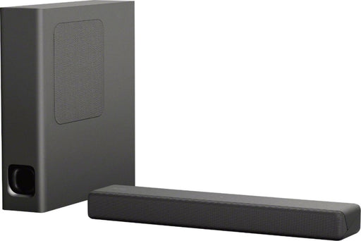 "Sony - 2.1-Channel Soundbar System with 4.72"" Wireless Subwoofer and Digital Amplifier - Charcoal black Model:HTMT300/B"