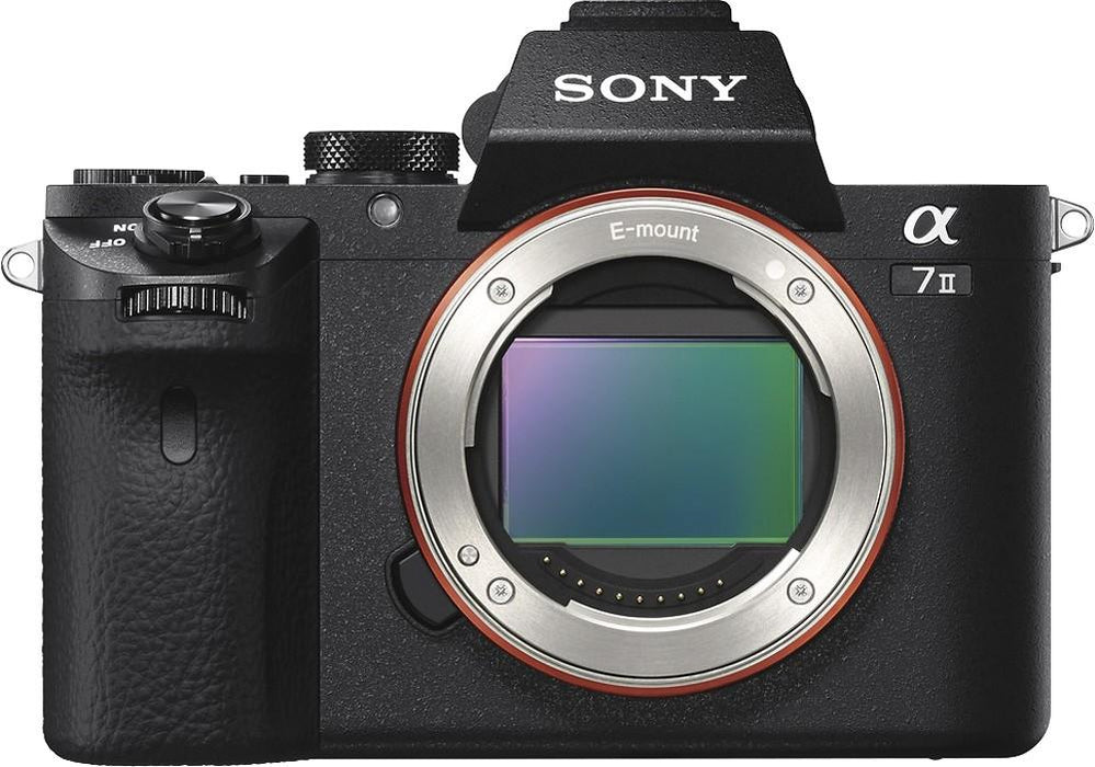 Sony - Alpha a7 II Full-Frame Mirrorless Camera (Body Only) - Black Model:ILCE7M2/B