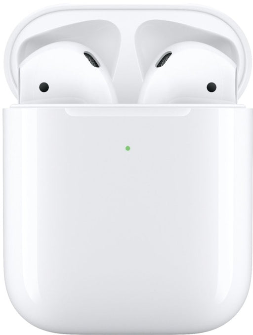 Apple - AirPods with Wireless Charging Case (Latest Model) - White Model:MRXJ2AM/A