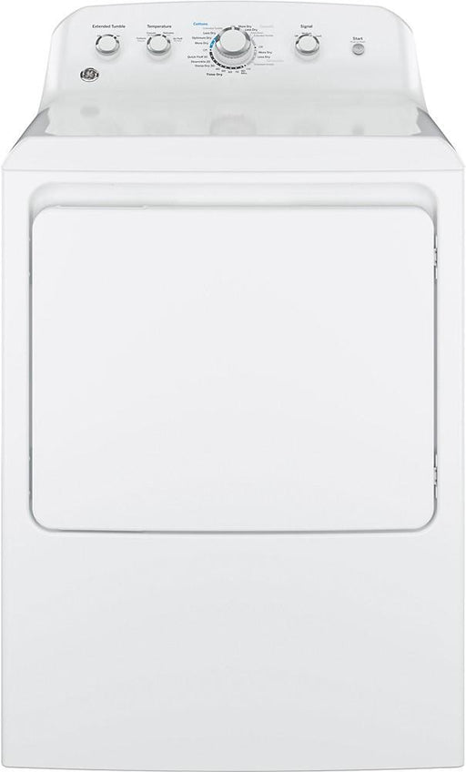GE - 7.2 Cu. Ft. 4-Cycle Electric Dryer - White
