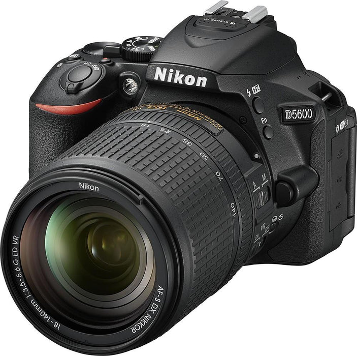Nikon - D5600 DSLR Camera with AF-S DX NIKKOR 18-140mm f/3.5-5.6G ED VR Lens