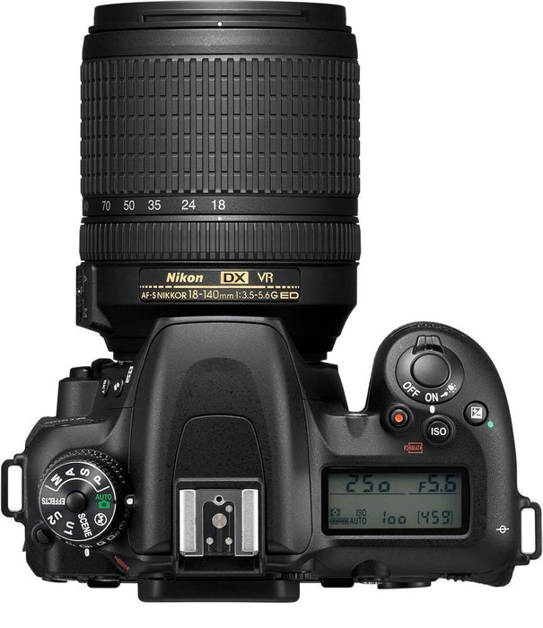 Nikon - D7500 DSLR Camera with AF-S DX NIKKOR 18-140mm f/3.5-5.6G ED VR lens