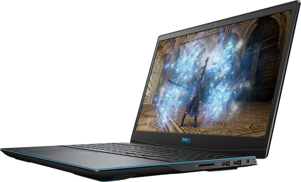 "Dell - G3 15.6"" Gaming Laptop - Intel Core i7 - 16GB Memory - NVIDIA GeForce GTX 1660Ti - 512GB SSD Model:I3590-7957BLK-PUS"