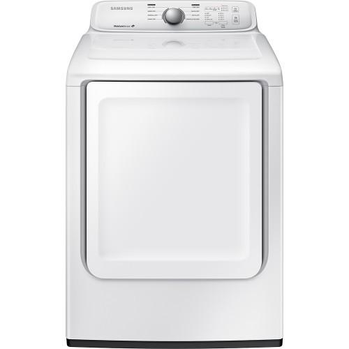 Samsung - 7.2 Cu. Ft. 8-Cycle Electric Dryer - White Model:DV40J3000EW