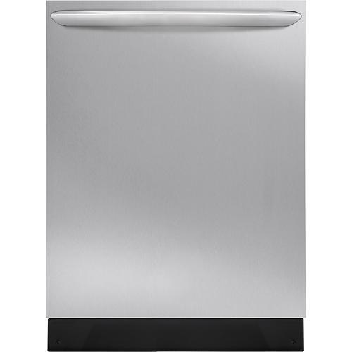 "Frigidaire - Gallery 24"" Tall Tub Built-In Dishwasher - Stainless Steel Model: FGID2466QF"