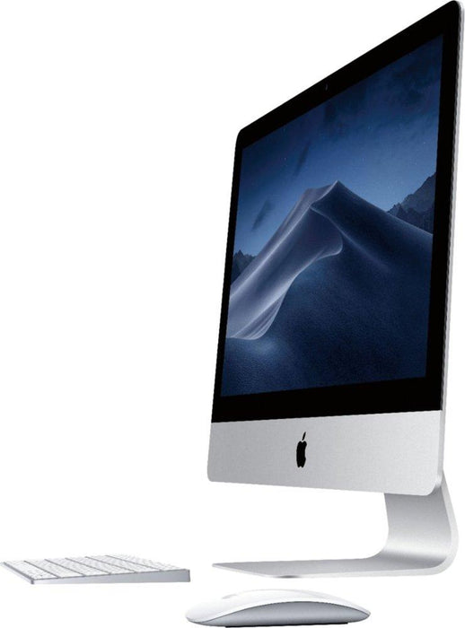"Apple - 21.5"" iMac® with Retina 4K display (Latest Model) - Intel Core i5 (3.0GHz) - 8GB Memory - 1TB Fusion Drive - Silver Model:MRT42LL/A"