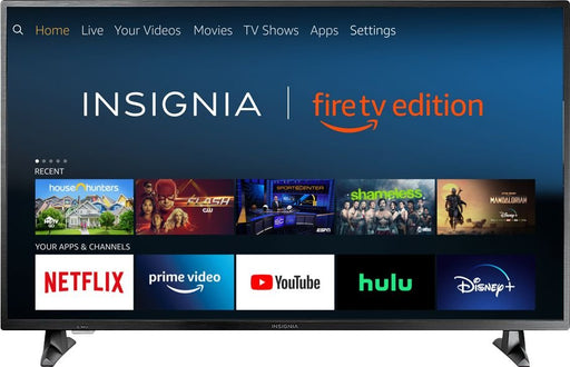 "Insignia™ - 43"" Class – LED - 2160p – Smart - 4K UHD TV with HDR – Fire TV Edition Model:NS-43DF710NA19"