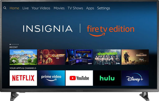 "Insignia™ - 55"" Class – LED - 2160p – Smart - 4K UHD TV with HDR – Fire TV Edition Model:NS-55DF710NA19"
